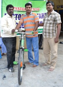Bicycles for Pastors